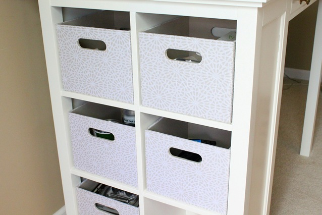 target storage bins
