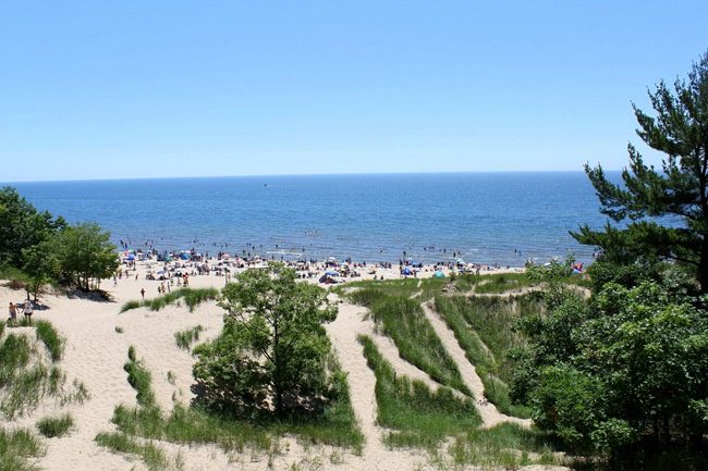 Michigan coast