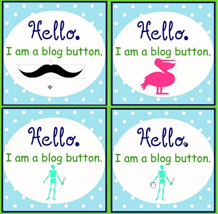 blog button examples