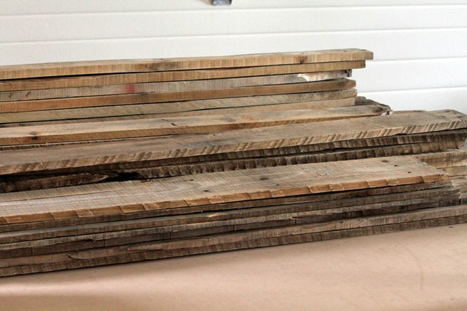 wood pallet decor