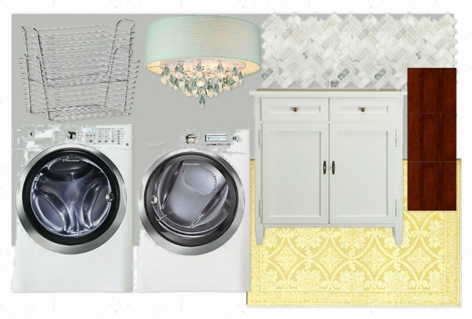 laundry mood board