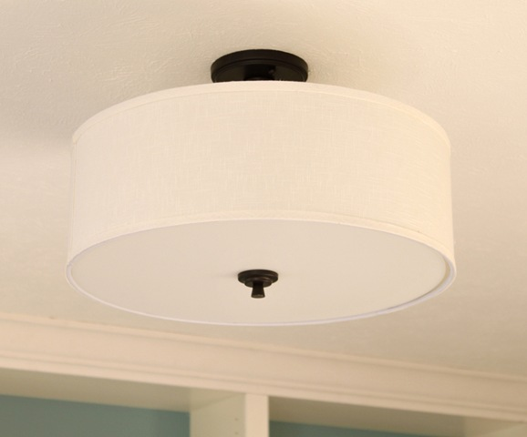 Great drum ceiling light