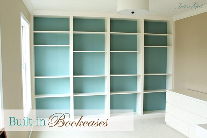 bookcase building designs