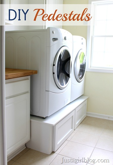 Diy Washer Dryer Pedestal 001