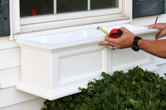 install a window box