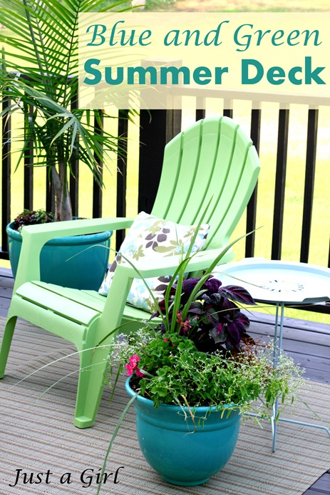 Blue Green Deck