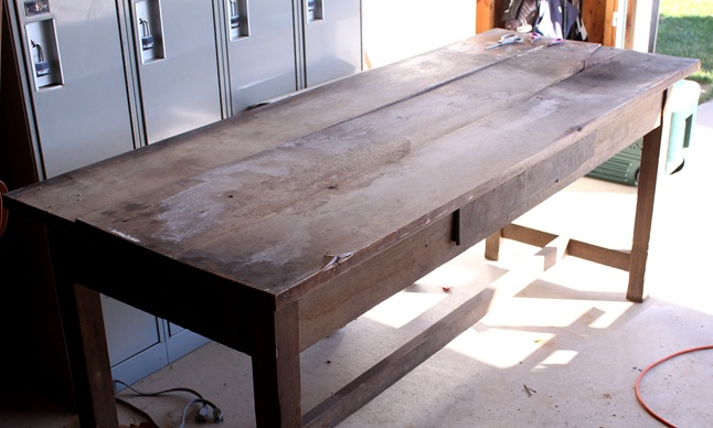 Console Table Craigslist Project