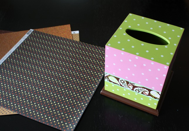 tissue box tutorial