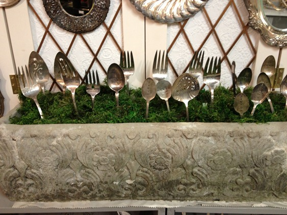 silverware display