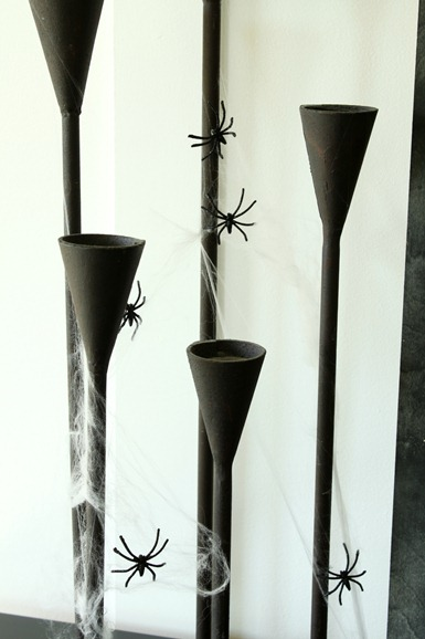 spider candlesticks