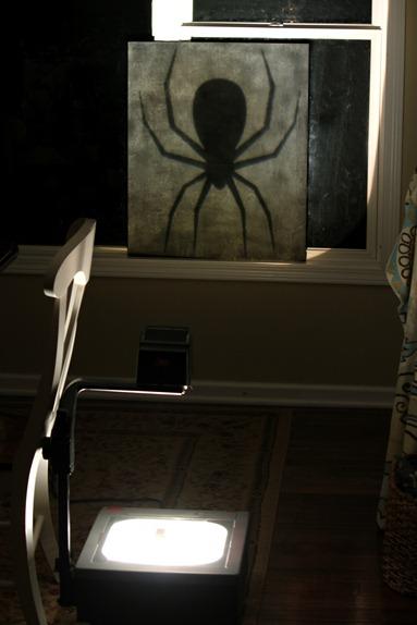 spider overhead
