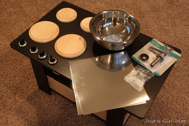 coffee table supplies